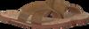 Cognacfarbene UGG Zehentrenner ITHAN CORK - small