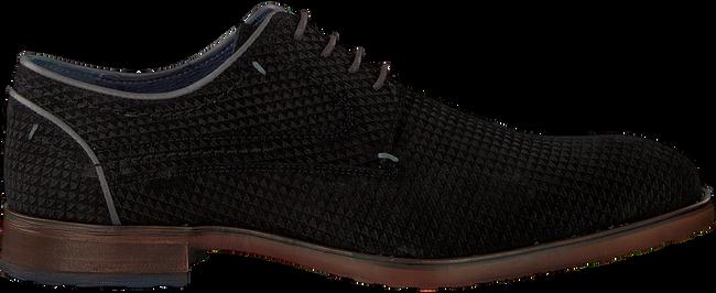 Schwarze OMODA Business Schuhe 735-S - large