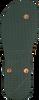 Grüne UZURII Pantolette BLACK FLOWER - small