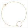 Goldfarbene ALLTHELUCKINTHEWORLD Armband SOUVENIR BRACELET CIRCLE - small