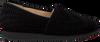 Schwarze HASSIA Slipper 1688 - small