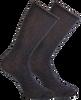 Graue MARCMARCS Socken GWEN 2-PACK LANG - small