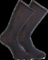 Graue MARCMARCS Socken GWEN 2-PACK LANG - medium