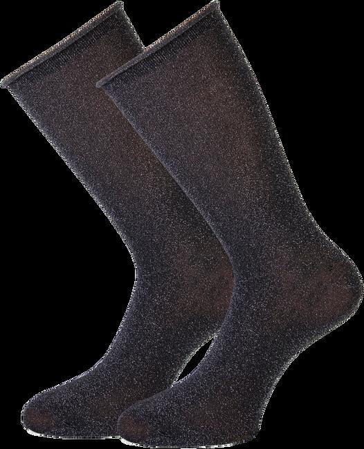 Graue MARCMARCS Socken GWEN 2-PACK LANG - large