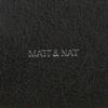 Schwarze MATT & NAT Umhängetasche ONRA SHOULDERBAG  - small