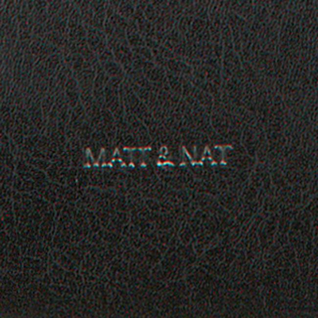 Schwarze MATT & NAT Umhängetasche ONRA SHOULDERBAG  - large