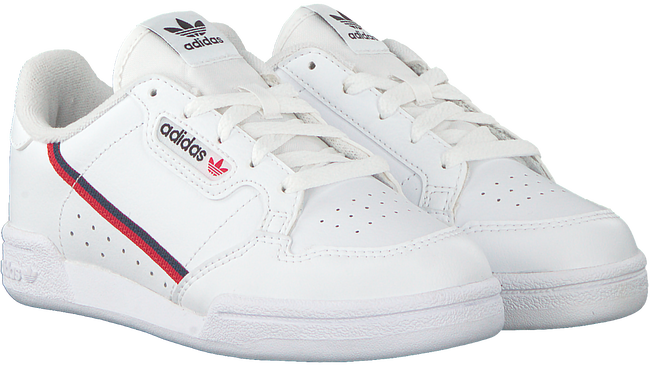 Weiße ADIDAS Sneaker CONTINENTAL 80 C  - large