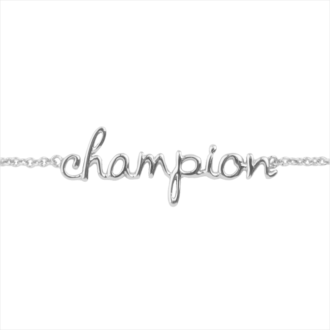 Silberne ALLTHELUCKINTHEWORLD Armband URBAN BRACELET CHAMPION - large