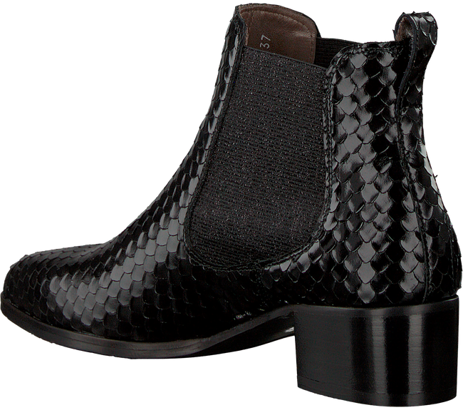 schwarze pertini chelsea boots 182w12032c6 schuhmode online. Black Bedroom Furniture Sets. Home Design Ideas