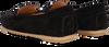 Schwarze NOTRE-V Mokassins 03-A28  - small