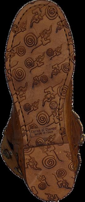 Cognacfarbene KARMA OF CHARME Stiefeletten MOON - large