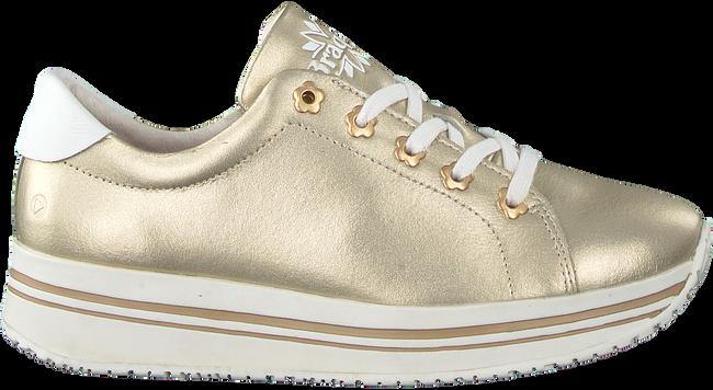 Goldfarbene BRAQEEZ Sneaker 419260 RENEE RISE  - large