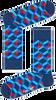 Blaue HAPPY SOCKS Socken OPTIC SQUERE - small