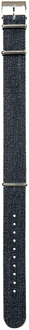 Blaue TIMEX Sonstige DENIM STONE WASHED 20MM - large