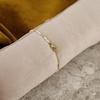 Goldfarbene NOTRE-V Armband ARMBAND KLEINE PARELS  - small
