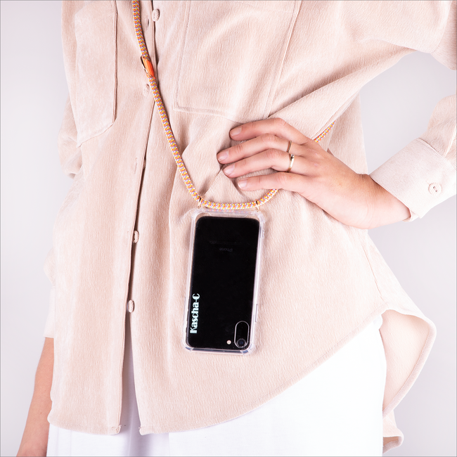 Gelbe KASCHA-C Handy-Schutzhülle PHONECORD IPHONE 7/8  - large