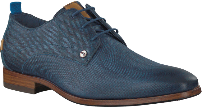 Blaue REHAB Business Schuhe GREG WALL 02 - large