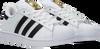 Weiße ADIDAS Sneaker low SUPERSTAR C  - small