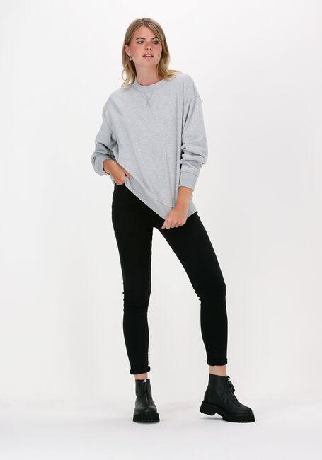 Graue SELECTED FEMME Sweater STASIE LS SWEATS - large