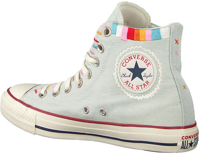 Blaue CONVERSE Sneaker high CHUCK TAYLOR ALL STAR HI  - large