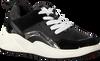 Schwarze UNISA Sneaker HIKO  - small