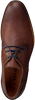 Cognacfarbene VAN LIER Business Schuhe 1915314  - small