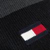 Schwarze TOMMY HILFIGER Schal BIG FLAG SCARF  - small