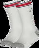 Weiße TOMMY HILFIGER Socken TH KIDS ICONIC SPORTS SOCK 2P - small