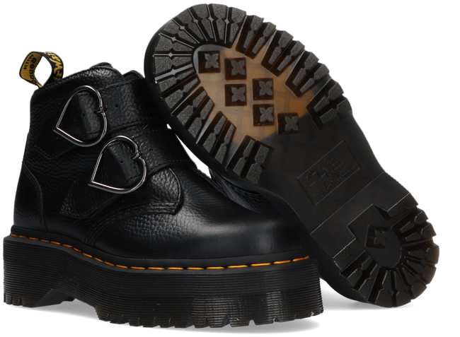 Schwarze DR MARTENS Ankle Boots DEVON HEART  - large
