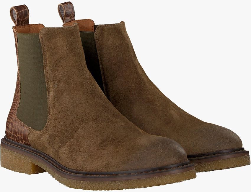 Taupe GROTESQUE Chelsea Boots BUCKO 1  - larger