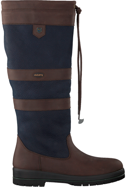Blaue DUBARRY Hohe Stiefel GALWAY  - large