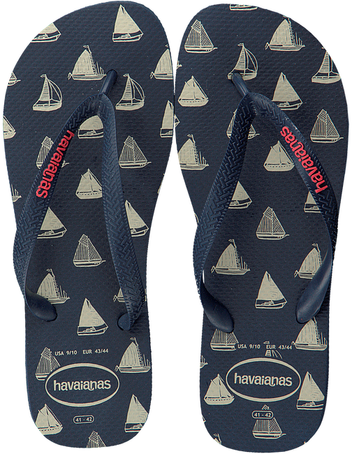Blaue HAVAIANAS Pantolette TOP NAUTICAL  - large