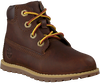 Braune TIMBERLAND Schnürboots POKEY PINE 6IN BOOT KIDS  - small