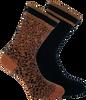 Braune XPOOOS Socken BELLA  - small
