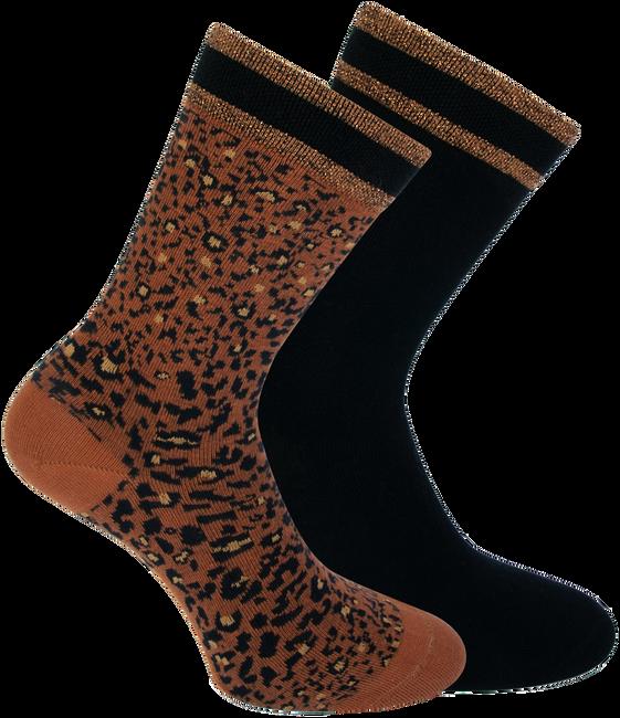 Braune XPOOOS Socken BELLA  - large