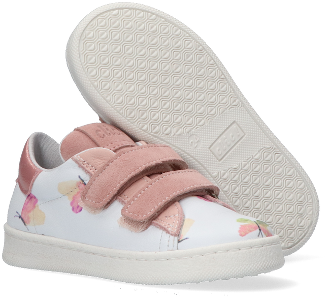 Weiße CLIC! Sneaker low CL-9476  - large