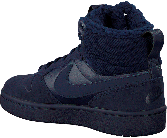 Blaue NIKE Sneaker high COURT BOROUGH MID WINTER KIDS - large
