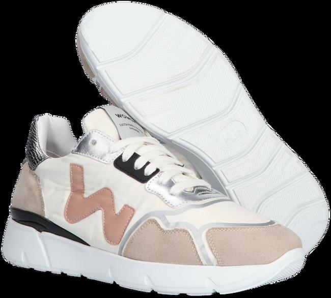 Weiße WOMSH Sneaker low VEGAN RUNNY  - large