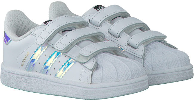 Weiße ADIDAS Sneaker SUPERSTAR KIDS - large