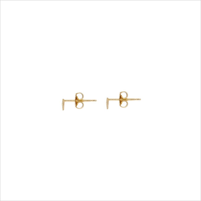 Goldfarbene ALLTHELUCKINTHEWORLD Ohrringe PETITE EARRINGS TRIANGLE - large