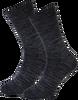 Graue MARCMARCS Socken RED ROME COTTON - small