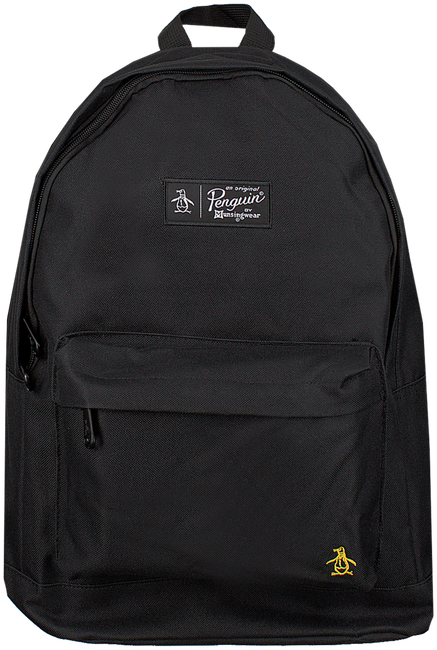 Schwarze ORIGINAL PENGUIN Rucksack HOMBOLDT BACKPACK - large