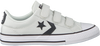 Weiße CONVERSE Sneaker STAR PLAYER 3V OX KIDS  - small