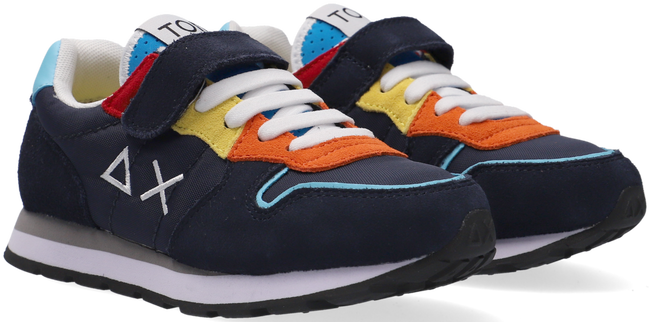 Blaue SUN68 Sneaker low BOYS TOM IS FUNNY  - large