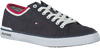 Blaue TOMMY HILFIGER Sneaker CORE CORPORATE TEXTILE SNEAKER - small