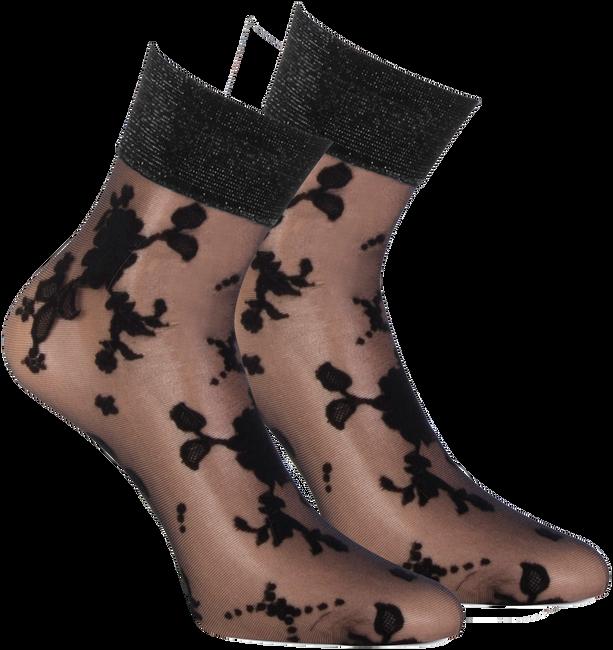 Bronzefarbene MARCMARCS Socken FLOWER LUREX  - large
