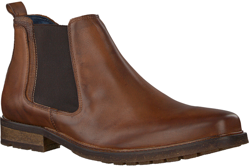 Cognacfarbene OMODA Chelsea Boots 730 - larger