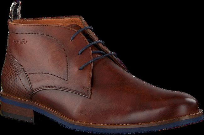 Cognacfarbene VAN LIER Business Schuhe 1955326  - large