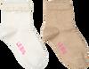 Weiße LE BIG Socken ROBERTA SOCK 2-PACK  - small