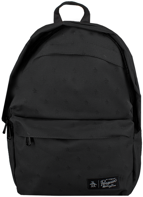 Schwarze ORIGINAL PENGUIN Rucksack CHATHAM AOP PETE BACKPACK - large